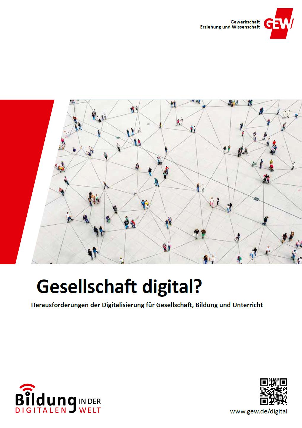 Broschüre Gesellschaft digital?